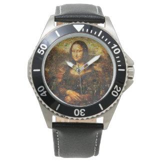 mona lisa collage - mona lisa mosaic - mona lisa watch