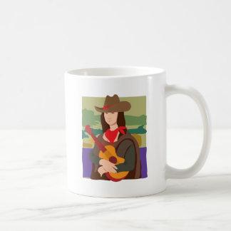 Mona Lisa Cowgirl Mugs