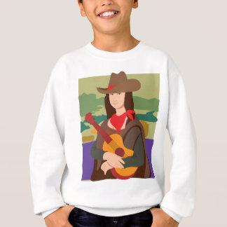 Mona Lisa Cowgirl Sweatshirt