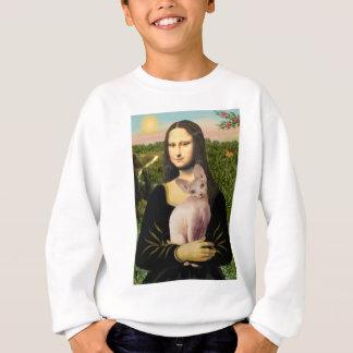 Mona Lisa - Cream Sphynx cat Sweatshirt
