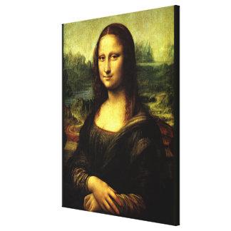 Mona Lisa, fine art painting Canvas Print