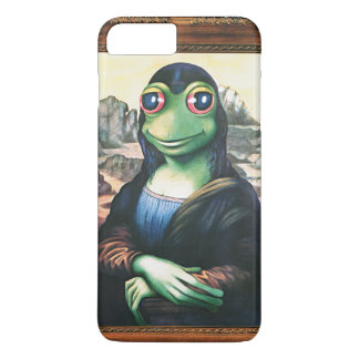 Mona Lisa Frog iPhone 7plus case