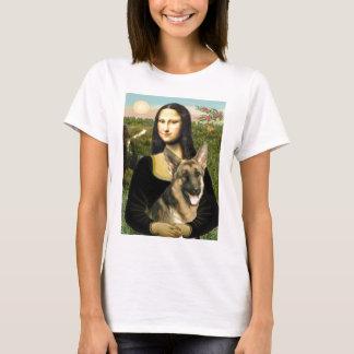 Mona Lisa - German Shepherd 2 T-Shirt