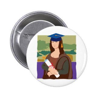Mona Lisa Graduate Pins