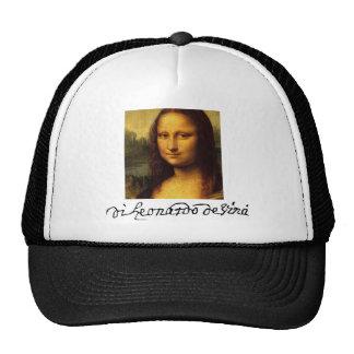 Mona Lisa Trucker Hats
