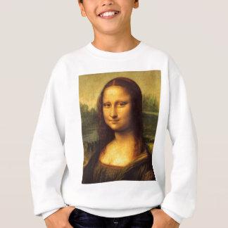 Mona Lisa Head Detail - Leonardo Da Vinci Sweatshirt