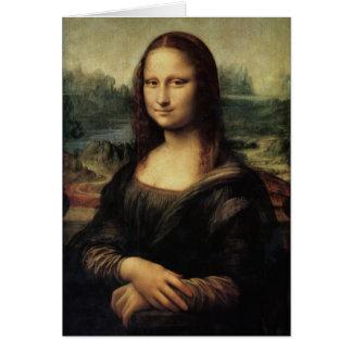 Mona Lisa in detail Greeting Card