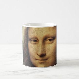 Mona Lisa in detail Basic White Mug