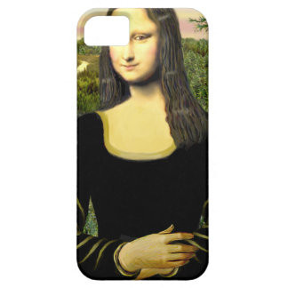 Mona Lisa - insert a pet (#2) Barely There iPhone 5 Case