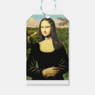 Mona Lisa - insert a pet (#2) Gift Tags