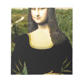 Mona Lisa - insert a pet (#2) Notepad