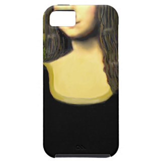 Mona Lisa - insert a pet (#2) Tough iPhone 5 Case
