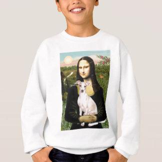Mona Lisa -Italian Greyhound 5 Sweatshirt