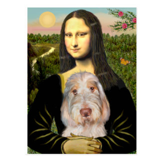 Mona Lisa - Italian Spinone #12 Postcard