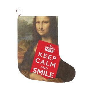 Mona Lisa Keep Calm And Smile