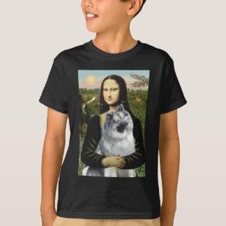Mona Lisa - Keeshond (C2) T-Shirt