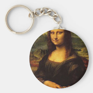 Mona Lisa Key Ring