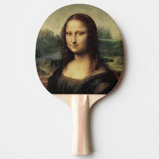 Mona Lisa La Gioconda by Leonardo da Vinci Ping Pong Paddle
