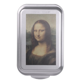 Mona Lisa La Gioconda by Leonardo da Vinci Cake Pan