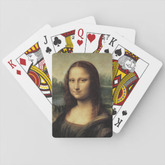 Mona Lisa La Gioconda by Leonardo da Vinci Playing Cards