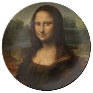 Mona Lisa ... Leonardo da Vinci ~ 1503-1517 Plate
