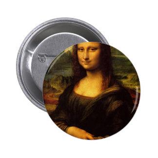 Mona Lisa Leonardo da Vinci Portrait Famous Smile Pins