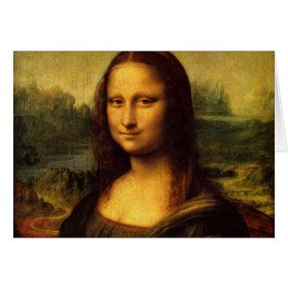 Mona Lisa Leonardo da Vinci Portrait Famous Smile Cards