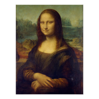 Mona Lisa - Leonardo da Vinci Posters