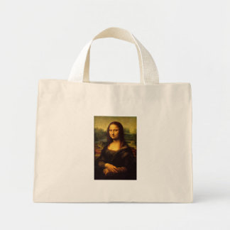 Mona Lisa Mini Tote Bag
