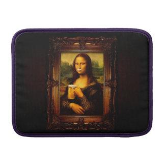 Mona lisa - mona lisa beer  - funny mona lisa-beer MacBook sleeve