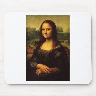 Mona Lisa Mouse Pad