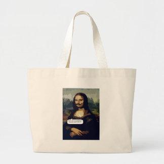Mona Lisa Needs A Good Waxing Tote Bag