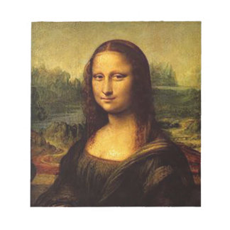 Mona Lisa Notepad