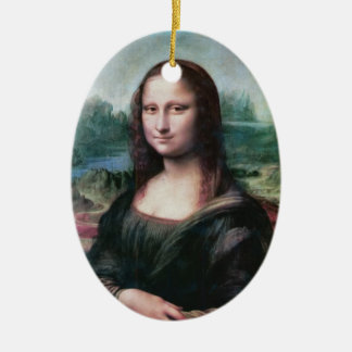 Mona Lisa ornament