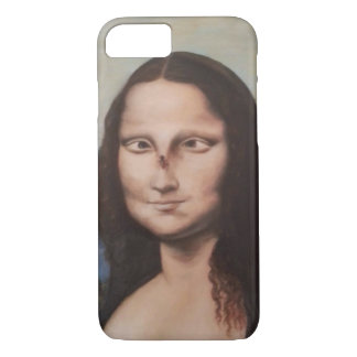 Mona Lisa parody iphone case