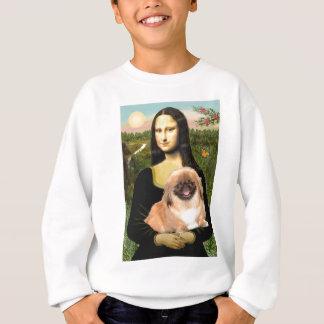 Mona Lisa - Pekingese #1 Sweatshirt