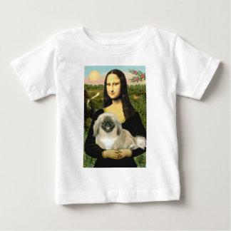 Mona Lisa - Pekingese 1b Baby T-Shirt
