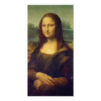 Mona Lisa Personalised Photo Card