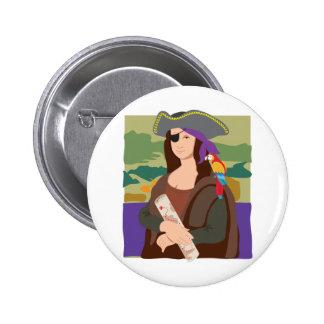 Mona Lisa Pirate Pins