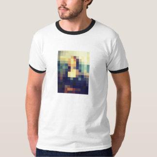 Mona Lisa Pixelated T-Shirt
