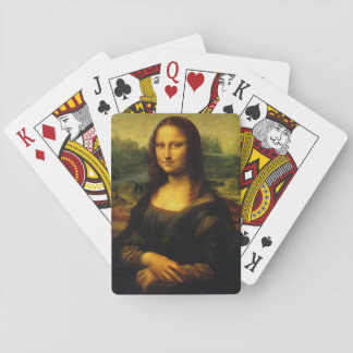 Mona Lisa Playing Cards