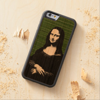 Mona lisa pop art Renaissance Cherry iPhone 6 Bumper Case