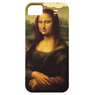 Mona Lisa Porcupines Case For The iPhone 5