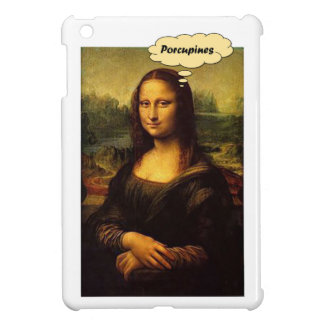 Mona Lisa Porcupines Cover For The iPad Mini