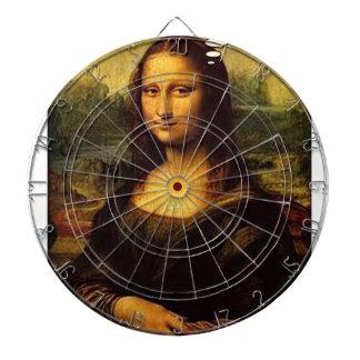 Mona Lisa Porcupines Dartboard