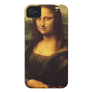 Mona Lisa Porcupines iPhone 4 Cases