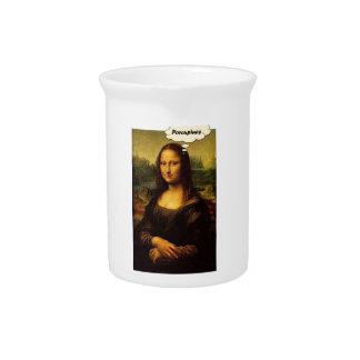 Mona Lisa Porcupines Pitcher
