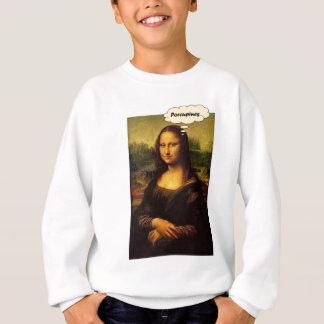 Mona Lisa Porcupines Sweatshirt