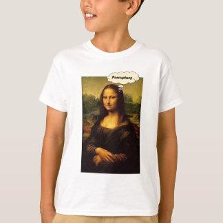 Mona Lisa Porcupines T-Shirt