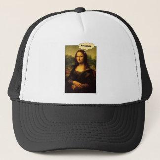 Mona Lisa Porcupines Trucker Hat